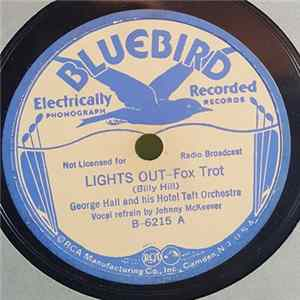 George Hall And His Hotel Taft Orchestra - Lights Out / I Dream Too Much Album